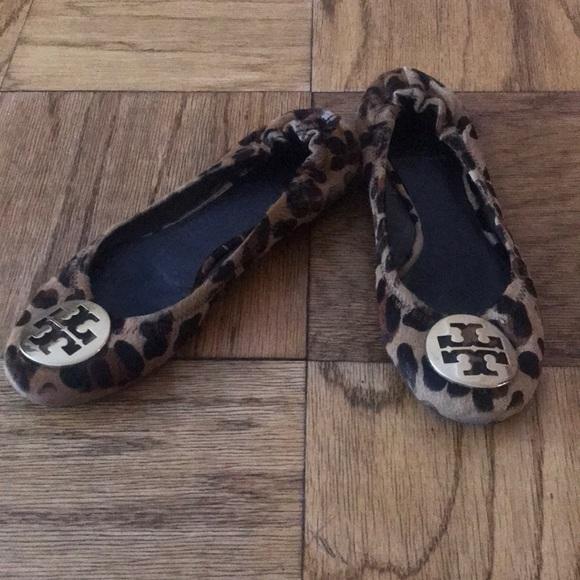 Tory Burch Shoes - Cheetah Tory Burch Flats